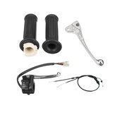 Brake Lever Hand Grips Throttle Cable Kits For Yamaha PW50 PY50