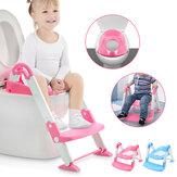 Παιδική τουαλέτα Σκάλα Περιβάλλον PP Υλικό Πτυσσόμενο Βρεφικό μικρό παιδί Γιογιό Εκπαίδευση Καρέκλα τουαλέτας
