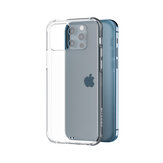 BlitzWolf® BW-AY5 Translucent Micro matte Shock-proof Anti-fingerprint TPU + PC Protective Case For iPhone 12 mini 5.8 inch/ 12 6.1 inch / 12 Pro 6.1 inch/ 12 Pro Max 6.7 inch