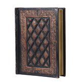 Vintage Notebook 416 Pages Journal Blank Hard Cover Leather Diary Sketchbook Paper for School Office