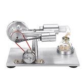 Geluidsarme hete lucht Stirling Engine-model met licht STEM Study Learning Supplies-collectiegeschenk