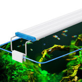 18-48CM Fish Tank Lamp Aquarium LED Lighting With Extendable Brackets White And Blue LEDs Fits for Aquarium