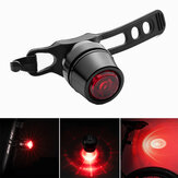 ROCKBROS Bicycle Rear Light USB Rechargeable Bike Tail Light Multi Safety Brake Warning Tail Light Cycling Accessories