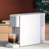 Xiaomi Mijia S1301 ekspres do kawy na kapsułki kompatybilny z kapsułką Nespresso 20Bar pompa elektromagnetyczna wymienny 600ml zbiornik na wodę