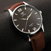 YAZOLE 318 Belysningsskärm Casual Style Clock Men Watch