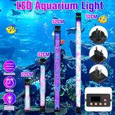 52CM Super Slim RGB LED Aquarium Lighting Aquatic Plant Light Fish Tank Lamp Waterproof Clip on Lamp for Fish Tank