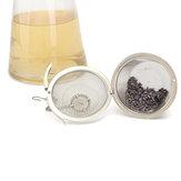 Filtre de Teakettle de teakettle d'épice de thé de boule de fines herbes réutilisable d'acier inoxydable de 4,5 / 8,5 / 11cm d'acier inoxydable