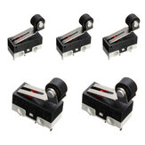 5pcs Ultra Mini Roller Hendel Actuator Microswitch SPDT Sub Miniatuur Micro Switch