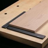 Paragem de aplainamento de madeira HONGDUI 19 ou 20mm Cachorro Banco de furos Cachorro braçadeira Acessórios de mesa de bancada