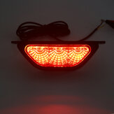 12V LED Rear Tail DRL Stop Light Brake Reverse Backup Fog Light Strobe Flash Lamp For Car Universal