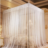 1.8 x 2m Luxury Princess Style Bed Netting Curtain Panel Bedding Canopy Four Corner Mosquito Net