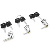 16/20/25mm Universal Cam Lock for Door Cabinet Mailbox Drawer Cupboard with2 Keys