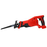 18V Red Electric Reciprocating Saw Variable Speed Cordless Wood Metal Cutting Power Tools Set