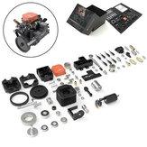 Toyan Motor FS S100AC Dört Zamanlı Metanol DIY 4 Zamanlı RC Motor RC Araba Bot Uçak RC Araçlar