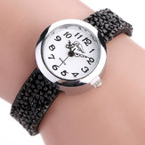 DUOYA D065 Retro Style Ladies Bracelet Gift Watch