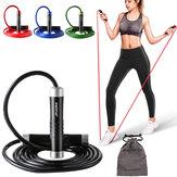 3m corde réglable saut métal vitesse corde à sauter Heavy Duty Saut Fitness Training