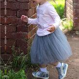 Симпатичные девочки-подростки Чистоцветные юбки из балетной пачки принцессы (не включая туфли).