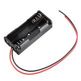 3 pcs 2 Slots AAA Bateria Caixa Bateria Titular Board com Interruptor for2xAAA Baterias DIY kit Caso