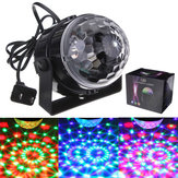 Mini RGB LED Disco Party DJ Cahaya Kristal Bola Ajaib Efek Tahap Cahaya