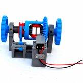 3Д18 Автомобильная дифференциальная шестерня Дифференциальная Замок Структура передачи Принципиальная модель Модель 3Д-печать