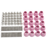 90Pcs 60A Plasma Cutting Gun Accessories For LTP5000D LTPDC2000 LTPAC2500