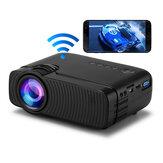 YJ333S WIFI Mini LED Projektör Kablosuz Telefon Aynı Ekran 720P 3500 Lümen Parlaklık 1000: 1 Kontrast Oranı ± 15 ° Keystone Düzeltme