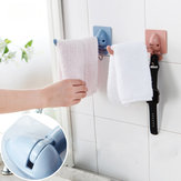 Non-trace Free Nail Hat Coat Clothes Towel Holder Kitchen Bath Wall Door Hanger Hooks