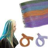 Изменение переменной температуры света Парик Волосы Расширения