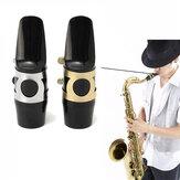 Alto boquilla saxo saxofón con la hebilla del casquillo de lámina parches cojines cojines
