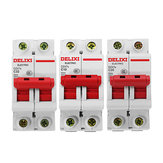 Delixi® DZ47S-2P/c AC 400V 10/20/32A 2P Plastic Air Switch Miniature Circuit Breaker