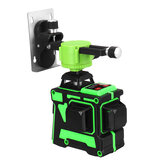 3D 12 Line Green Light Laser Level Digital Self Leveling 360° Rotary Measure