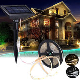 5M SMD2835 Waterdichte Solar Powered LED Strip Light voor Kerstmis Outdoor Garden Decor DC12V