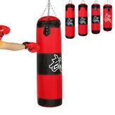 10 قطعة 60 ~ 120 سنتيمتر الثقيلة اللكم حقيبة تدريب عدة MMA الملاكمة فنون الدفاع عن النفس الركل الرمل مع سلسلة