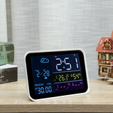 Wireless Weather Station + Receiver Clock Digital Temperature Humidity Meter