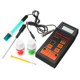 Wattson Portable PH-8414 PH ORP Temperature Meter 3 in 1 with Battery and PH Buffer Powder