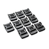 10Pcs 25mm MOLLE Tactical Backpack Webbing Connecting Buckle