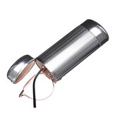 Aluminum Sunglasses Protector Case Box Silver Hard Metal Glasses Storage Case