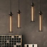 E27 Industrial Retro Vintage Flute Pingente Lamp Kitchen Bar Hanging Chandelier Light AC220V