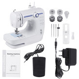 110-220V Portable Electric Double thread Sewing Machine Desktop Household 12 Stitches