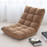 Adjustable Lazy Sofa Cushioned Floor Lounge Chair  Living Room Leisure Chaise Chair
