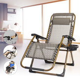 Lounge Chair Folding Office Lunch Break Chair Summer  Nap Bed ReinforcementChair Portable Beach Chair