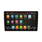 PX6 10.1 Inch 1 DIN for Android 9.0 Car Stereo Radio 8 Core 4+64G Touch Screen 4G WIFI GPS bluetooth RDS FM AM Rear Camera