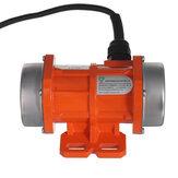 20/40 / 60W concreto vibrador vibração motor monofásico liga de alumínio