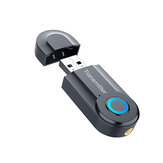 USB bluetooth 5.0 Adaptador Sem Fio Driver-Free Bluetooth Transmitter Receiver Plug and Play Música Estéreo Dongle Bluetooth para Computador Portátil
