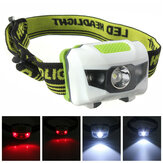 XANES 1200 Lumen R3 + 2LED 4 Model Super Bright Mini Headlamp Headlight Lampu Torch