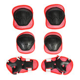 Kids Knee Pads Elbow Pads Protective Gears Set/Child Adjustable Helmet For Electic Scooter Riding Roller Skating Skateboard