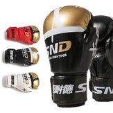 SND 10OZ Professional Breathable Boxing Gloves Men Fight Gloves For Karate Muay Thai Boxing Training