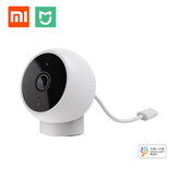 Xiaomi Mijia 1080P 170 ° Smart IP Camera AI Deteksi Manusia IP65 Tahan Air IR Inframerah Night Vision SD Card & Cloud Storage Real-time Intercom Monitor