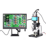 HAYEAR 14 Million Pixels Full HD Color Screen Digital Magnifier Microscope 1 / 2.3 Inch Electron Digital Micro