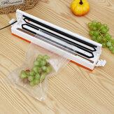Mesin Vacuum Sealer Kemasan 220 V / 110 V Rumah Tangga Makanan Vacuum Sealer Film Sealer Vacuum Packer